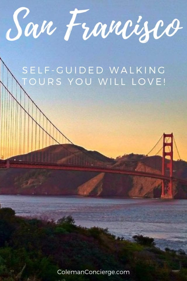 self guided tour san francisco
