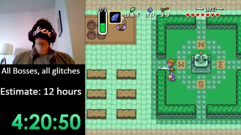 link to the past speedrun guide
