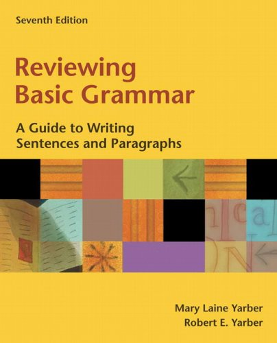 a guide to grammar and writing