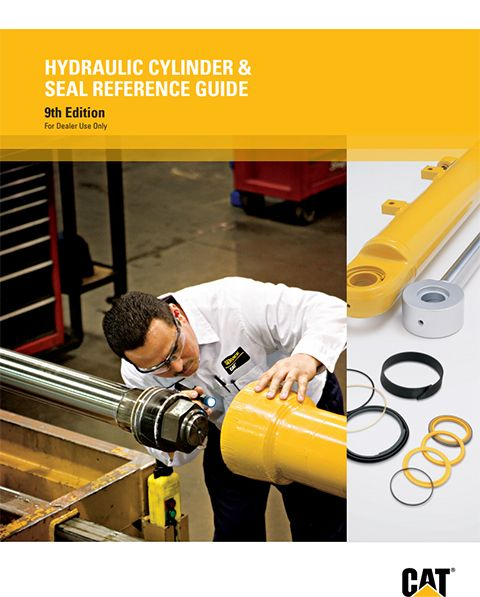 caterpillar hydraulic cylinder and seal reference guide